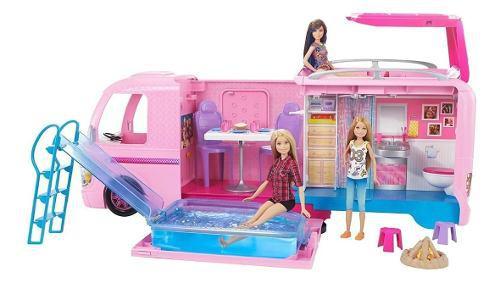 Camper de lujo de la barbie 2017 loriginal carro camper