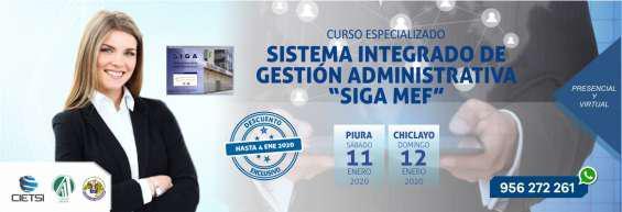 Curso especializado sistema integrado de gestión