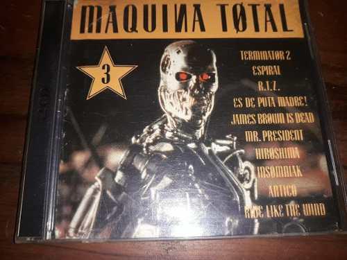 D90 - máquina total 3 (2 cd) techno dance 90s