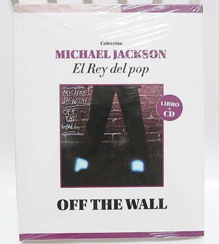 Michael jackson - off the wall cd + libro sellado original