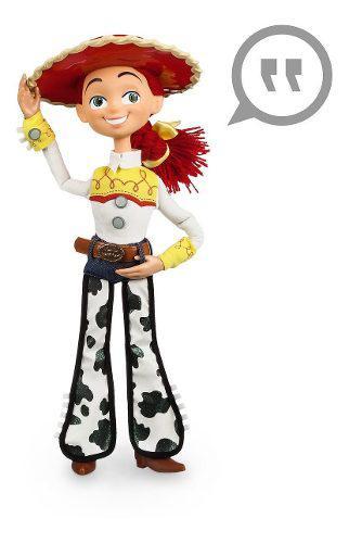 Muñeca con sonido vaquerita jessie toy story disney origina