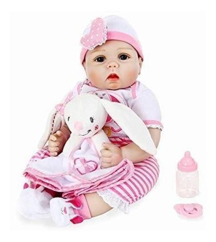 Realista renacer bebe muñeca silicona suave cuerpo completo