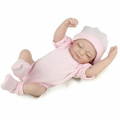 Reborn muñeca de bebé recién nacido hecho a mano realista