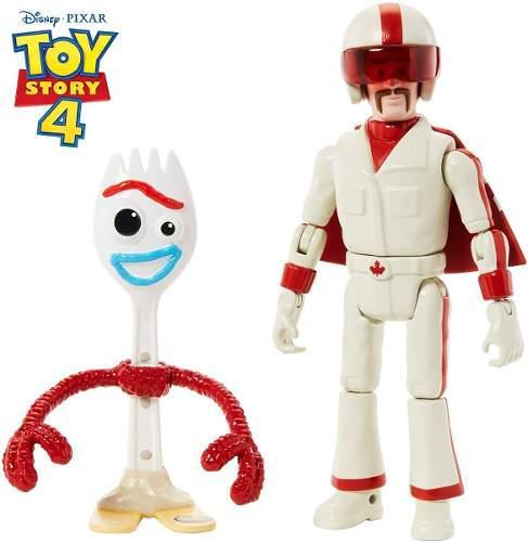 Toy story 4 disney pixar forky y duke caboom original