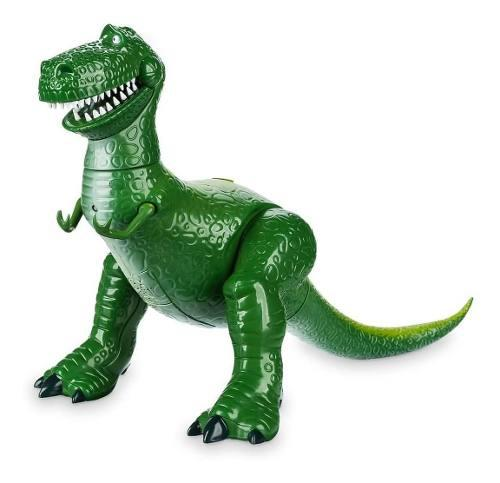 Toy story rex interactive marca disney eeuu frases ingles