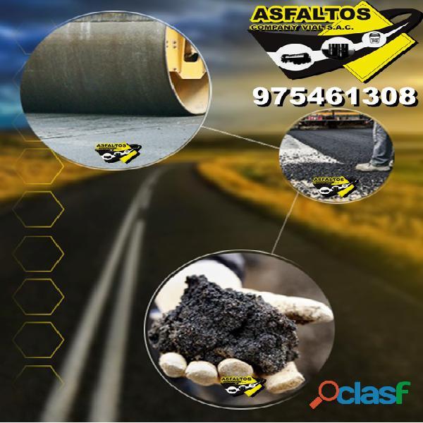Servicio de imprimacion asfaltica para tus obras