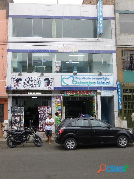 Vendo local super comercial * avenida gran chimú 981   983 urb. zárate s.j.l.