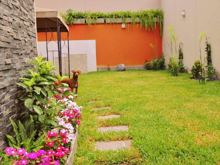 Ib - venta de moderna casa en urb. la planicie, la molina!