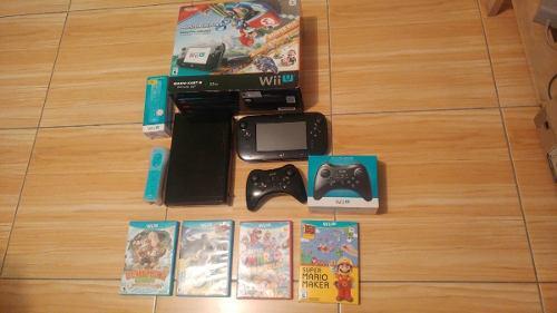 Nintendo wii u deluxe set mario kart 8 - juegos - mandos