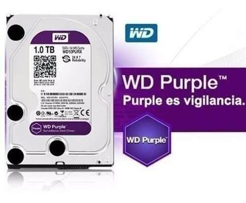 Oferta! disco duro 1tb wester digital púrpura cctv p/dvr