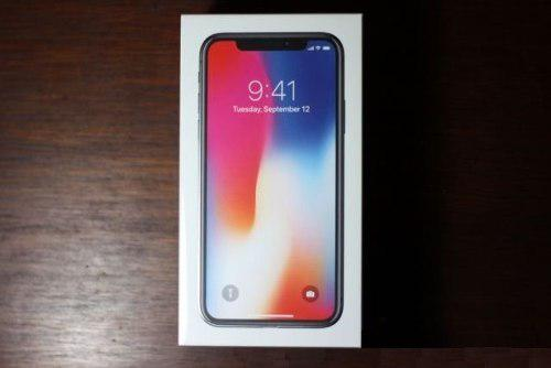 Caja De iPhone X Space Gray 64 Gb