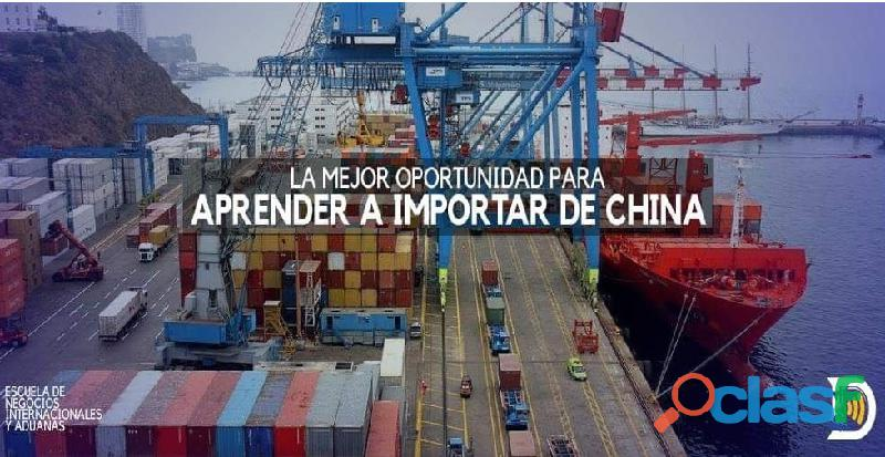 ?? aprende y emprende a importar desde china y del mundo