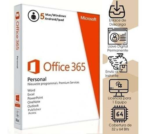 Office 365 Original 5 Pcs Android O Mac