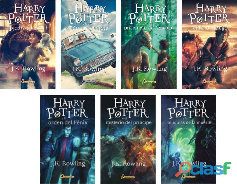 Libros de harry potter en pdf coleccion completa
