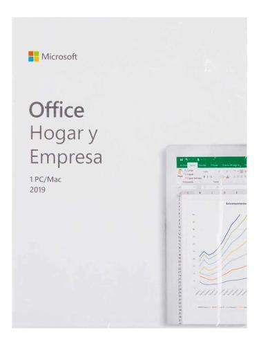 Office hogar y empresas 2019 windows/mac