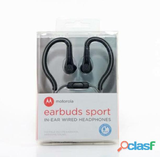 Audifonos motorola earbuds sport resistente