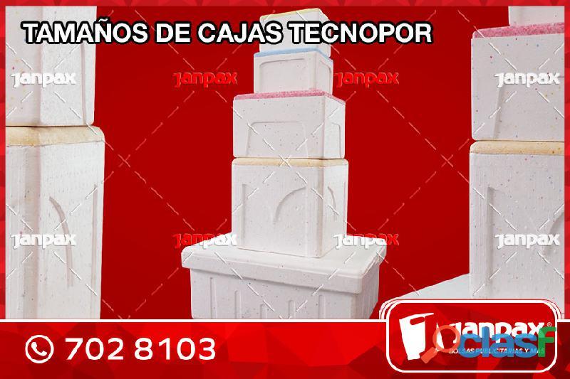 CAJAS DE TECNOPORT AL POR MAYOR JANPAX