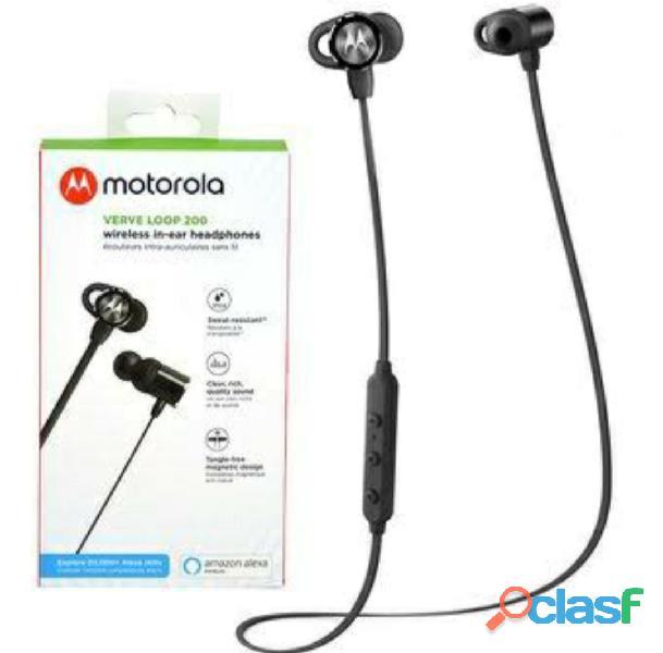 Motorola audifonos bluetooth metal deportivos