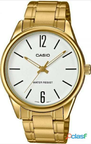 Reloj casio hombre dorado mtp v005g 1budf