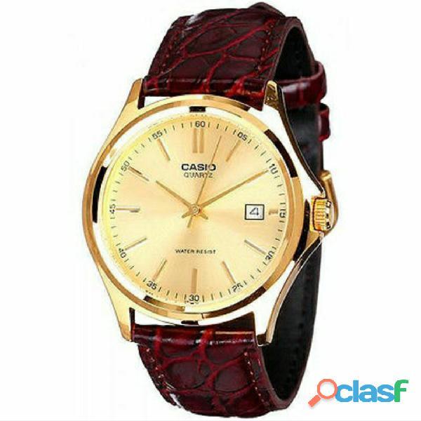 Reloj Casio Mtp 1183q 9a Correa Cuero Genuino