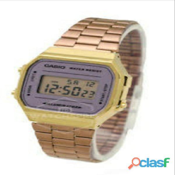 Reloj casio mujer plateado a168wecm 5df