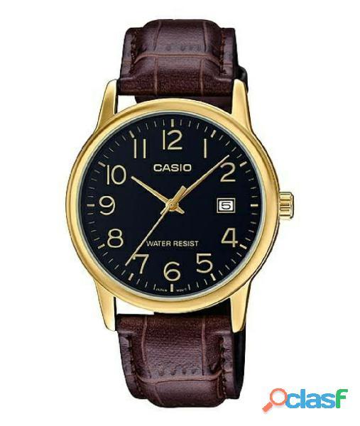 Reloj casio para caballero mtp v002gl 1b