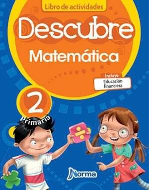 Descubre matematicas libro actividades 2do primaria norma