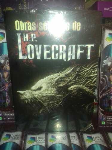 Obras selectas h. p. lovecraft. ediciones albor. libromanía