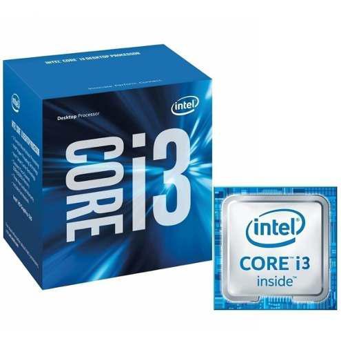 Procesador intel core i3-6100, 3.70 ghz, 3 mb caché l3,