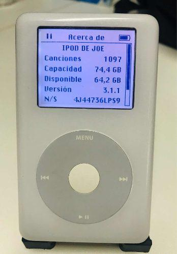 Apple ipod classic 4ta g 80gb