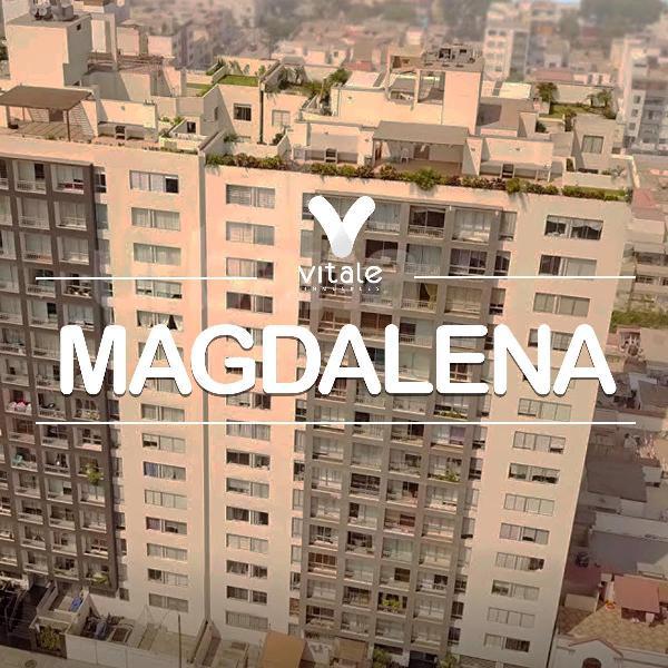 Departamento en alquiler amoblado - magdalena