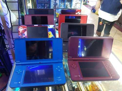 Nintendo dsi xl en color azul negro rojo o skin + 180 juegos