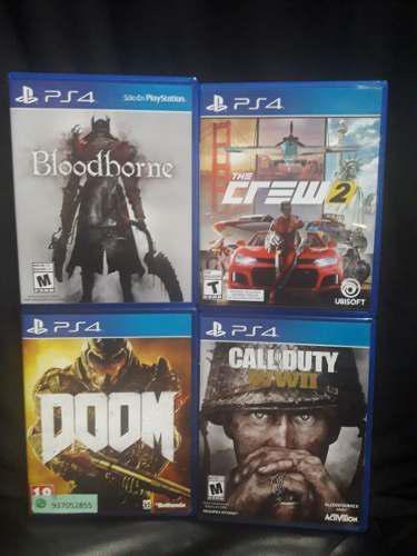 Oferta pack de 4 juegos de ps4 originales
