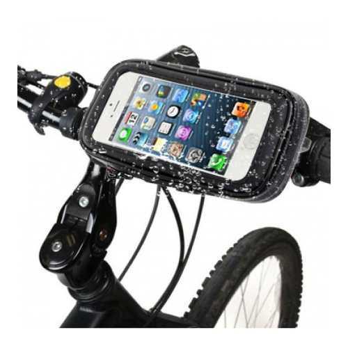 Holder estuche de celular para moto - bicicleta impermeable