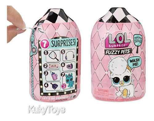 Lol surprise fuzzy pets serie makeover ola 2, original!