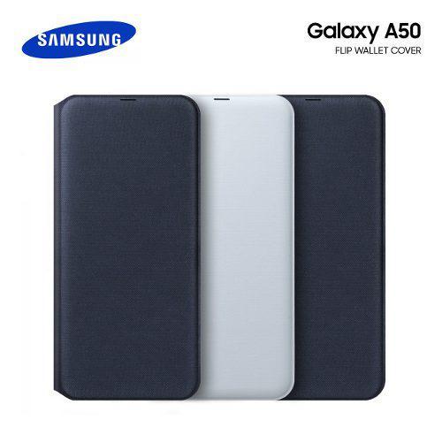 Samsung flip wallet cover @ galaxy a50 2019 funda original