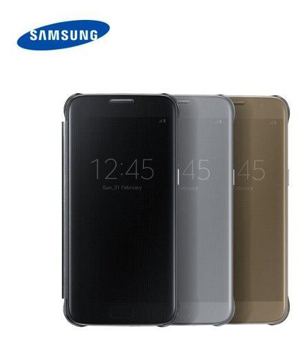 Samsung galaxy s7 funda flip cover s-view clear en stock!!