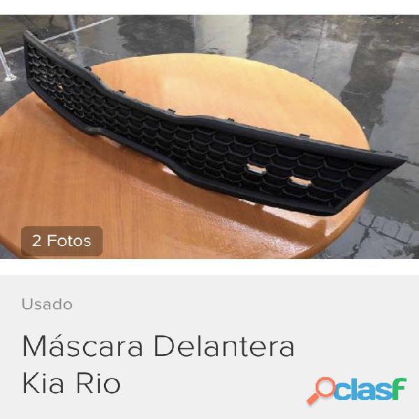 Máscara (Rejilla) de radiador Kia Rio 2015   (usado  Original) 1
