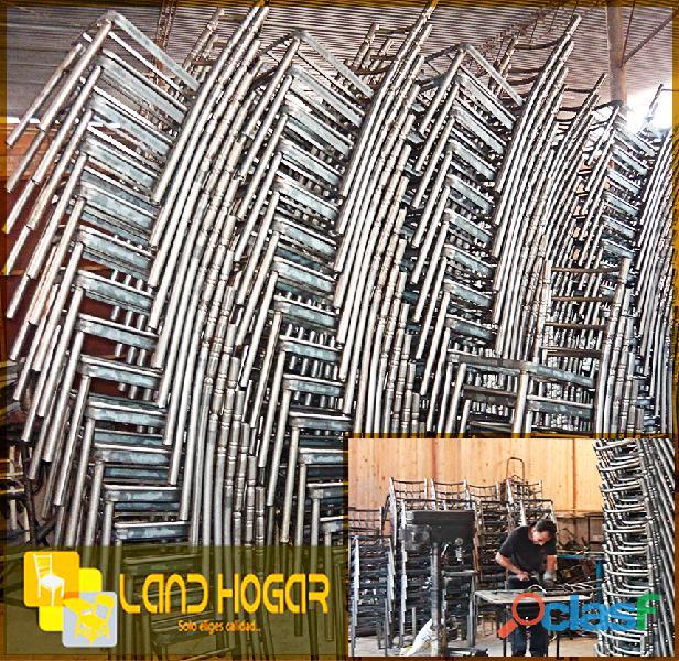 Fabricante de sillas metalicas en lima