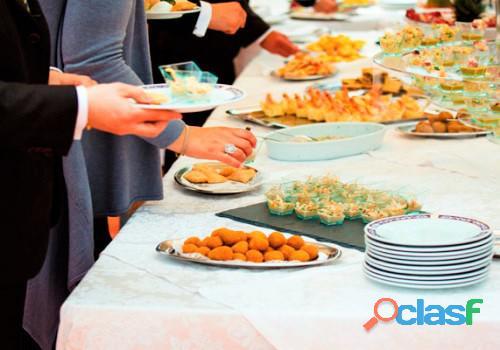 Servicio de coffee break bocaditos desayunos almuerzos buffet criollo para eventos corporativos