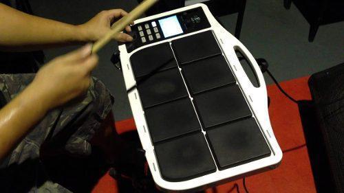 Hxm hdp1 bateria electronica octapad roland spd korg profesi