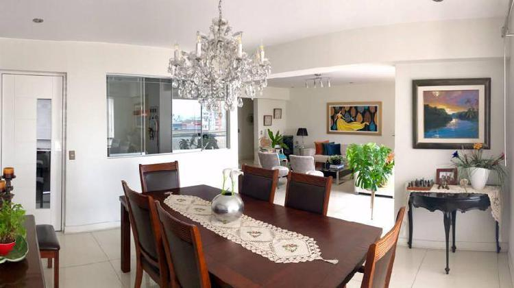 San isidro, flat 207 m², usd 395,000, 3 dorm., 2 cocheras