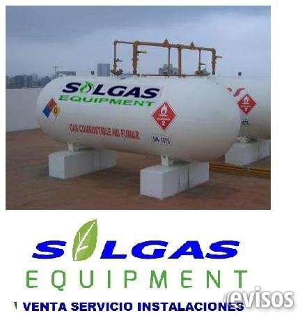 Tanques para gas solgas en Lima