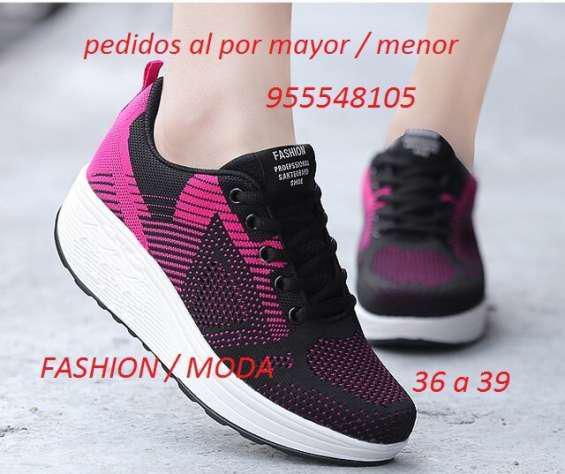 Zapatillas mujeres importadas al por mayor enviosssss en