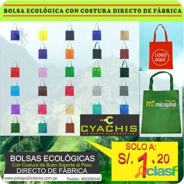 Bolsas ecológicas de tela