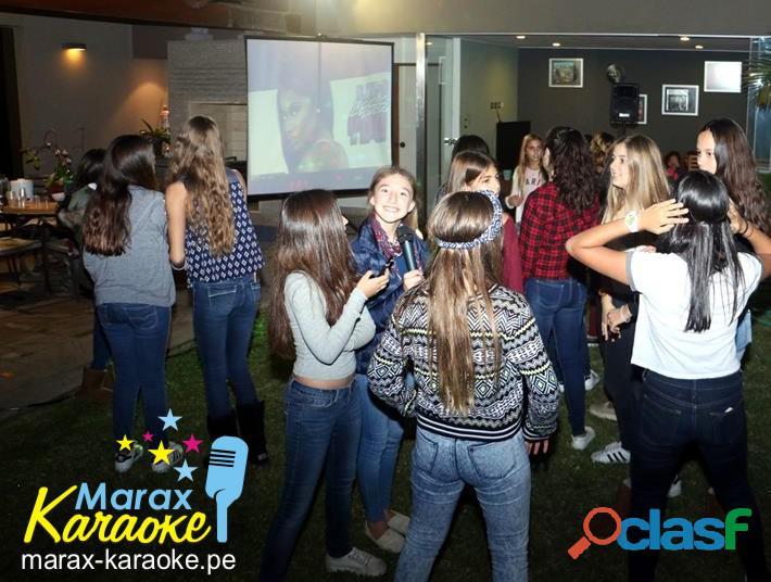 Fiesta karaoke teens 993856118 todo lima!