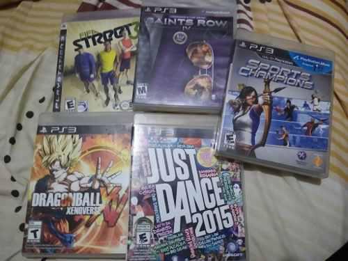 Just Dance 2015, Saints Row Iv, Dragon Ball Xenoverse Ps3