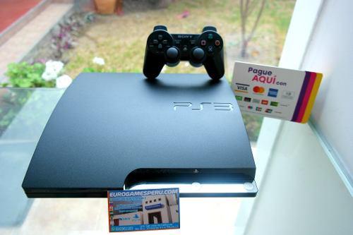 Play station 3 de 320gb + 31 juego precio trujillo perú