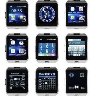 Smart phone - smart watch dz09