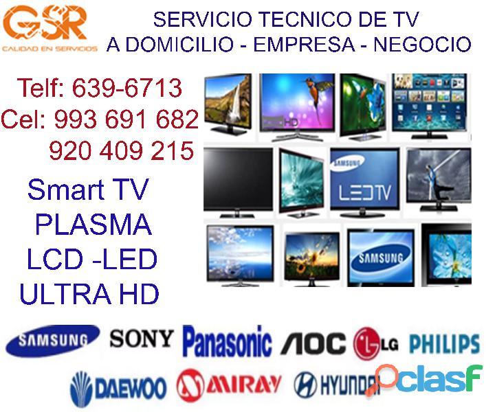 992361745 SERVICIO TÉCNICO DE TELEVISORES SAMSUNG, LG A DOMICILIO